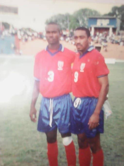 Ernso Laurence avec la sélection de Haïti