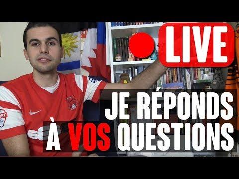 Emission live ce samedi soir (22h/23h30) : actualité foot + vos questions !