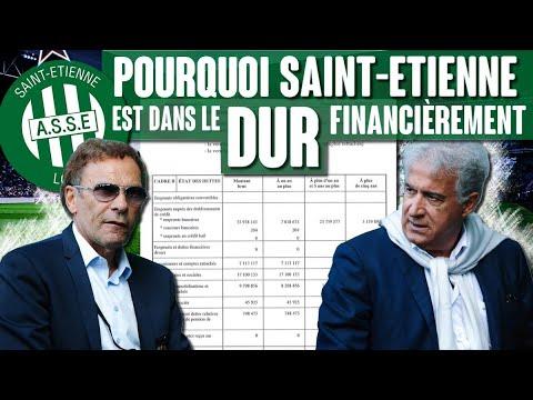 Pourquoi l'AS Saint-Etienne est dans le dur financièrement ?