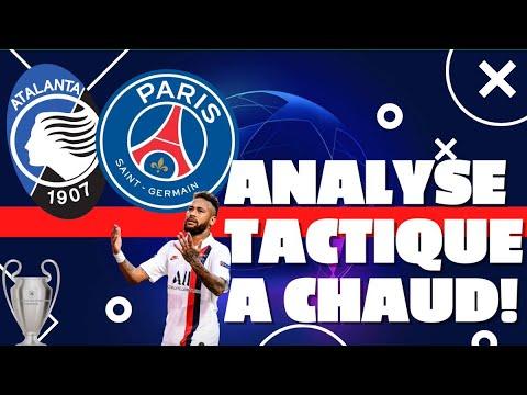 Atalanta – PSG (1-2) : analyse tactique à chaud