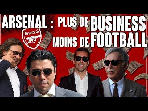 Arsenal : plus de business, moins de foot !