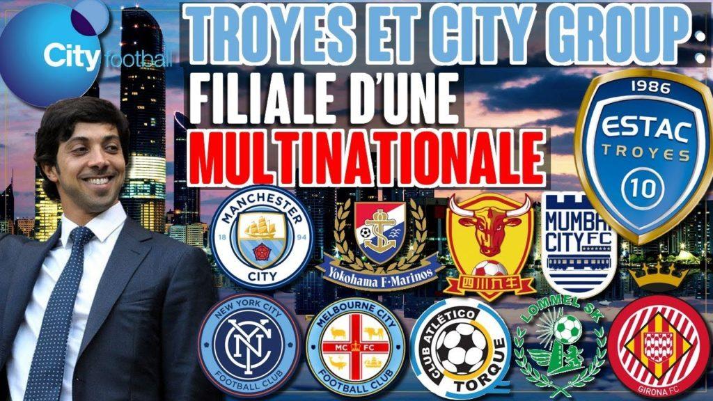 Troyes & le City Football Group : la filiale d'une multinationale
