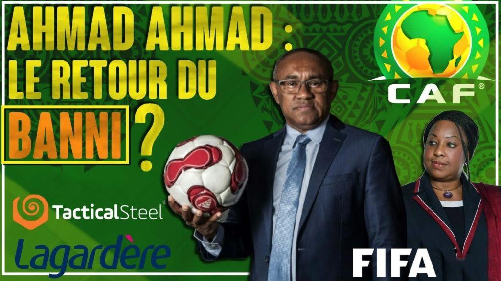 Ahmad Ahmad : le retour (éphémère) du banni à la CAF ?