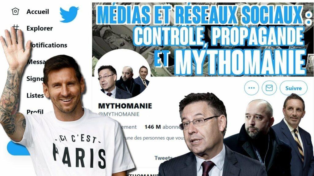 Médias et réseaux sociaux dans le foot : contrôle, propagande & mythomanes